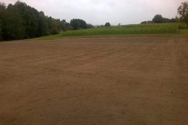 Den Eeckhout wijngaard gras gezaaid september 2015