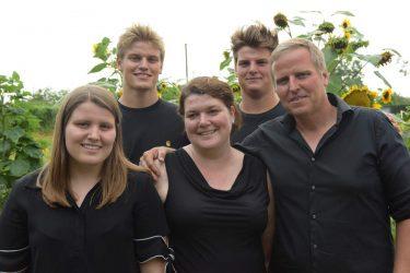 Wijnboeren gezin Den Eeckhout